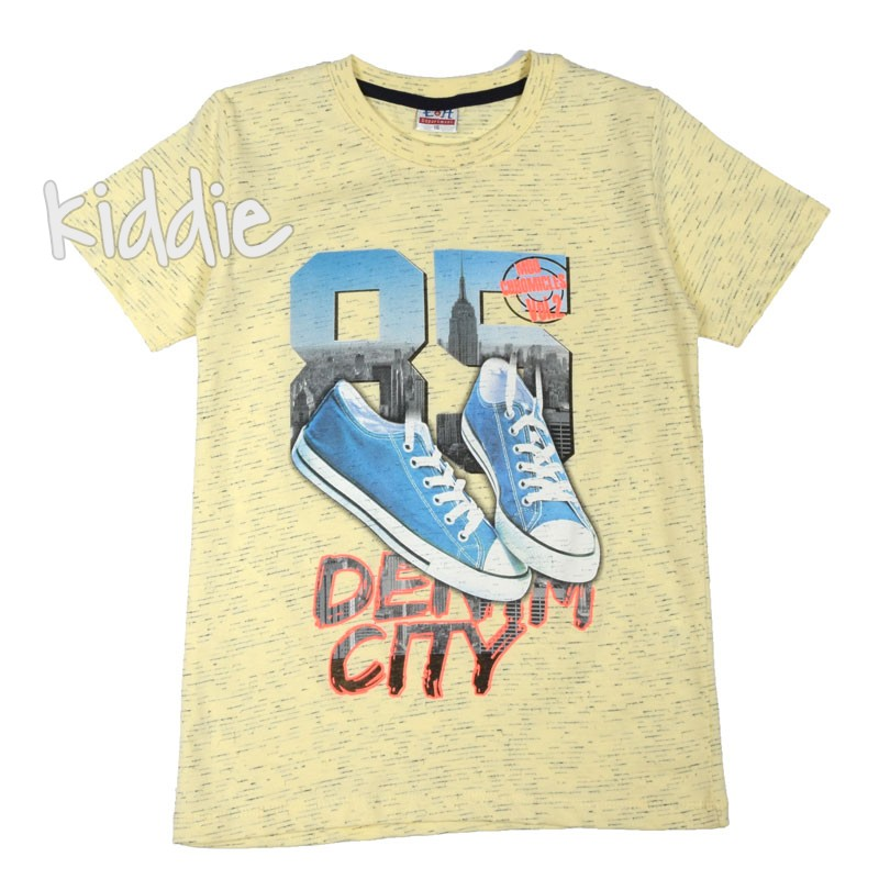 Tricou EH baiat Denim City