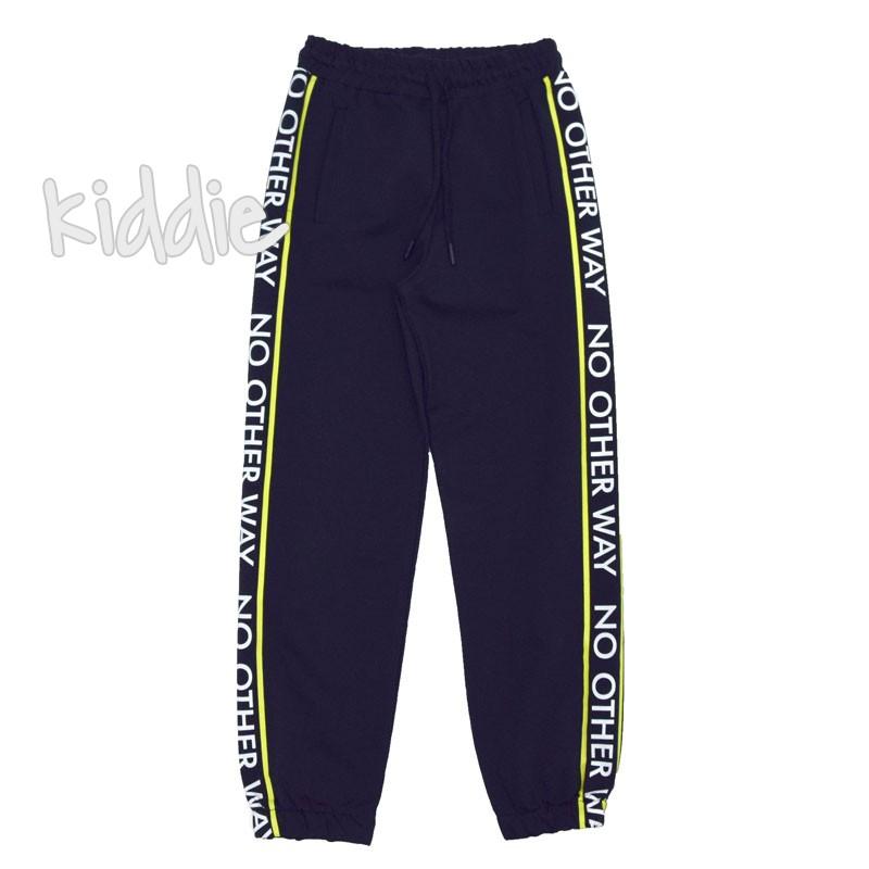 Pantaloni sport baiat No other way Wanex