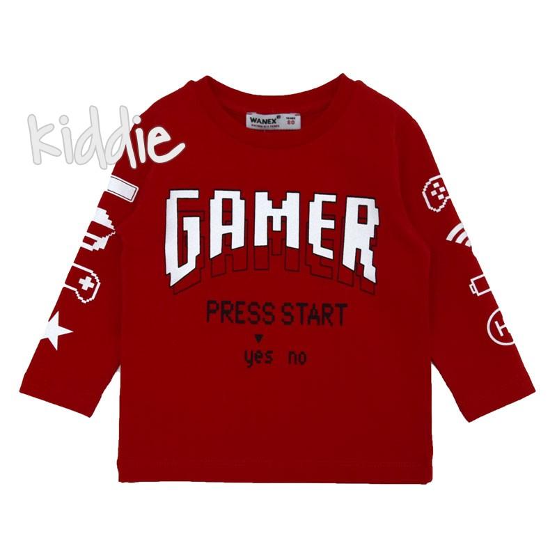Bluza baieti Gamer Wanex
