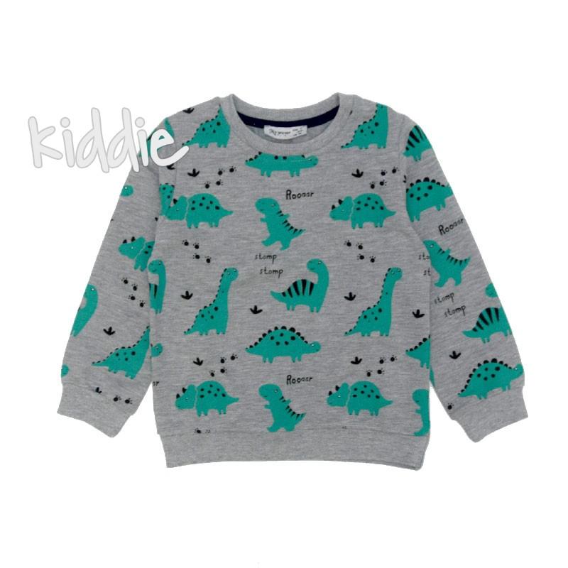 Bluza cu dinozauri My prayer baieti
