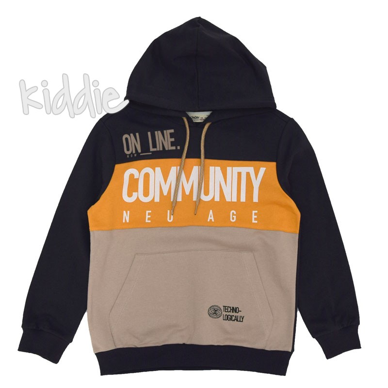 Bluzon baieti Cikoby Community