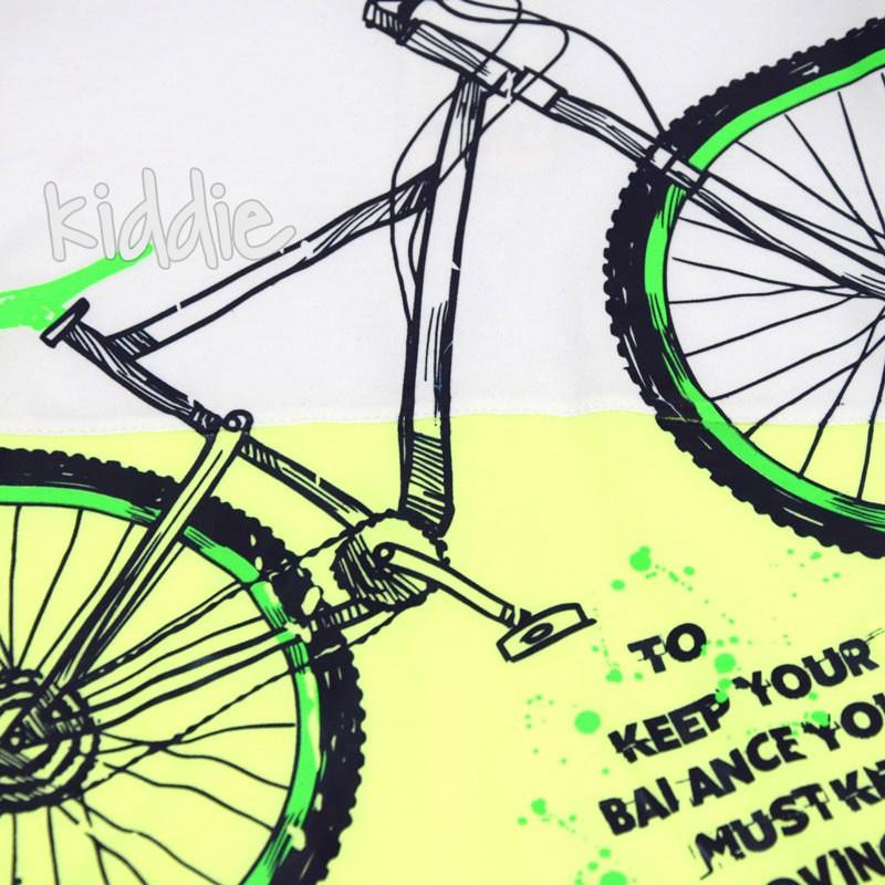 Tricou de baieti Mackays Bicycle