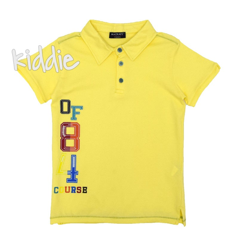 Bluza polo baieti Mackays OF
