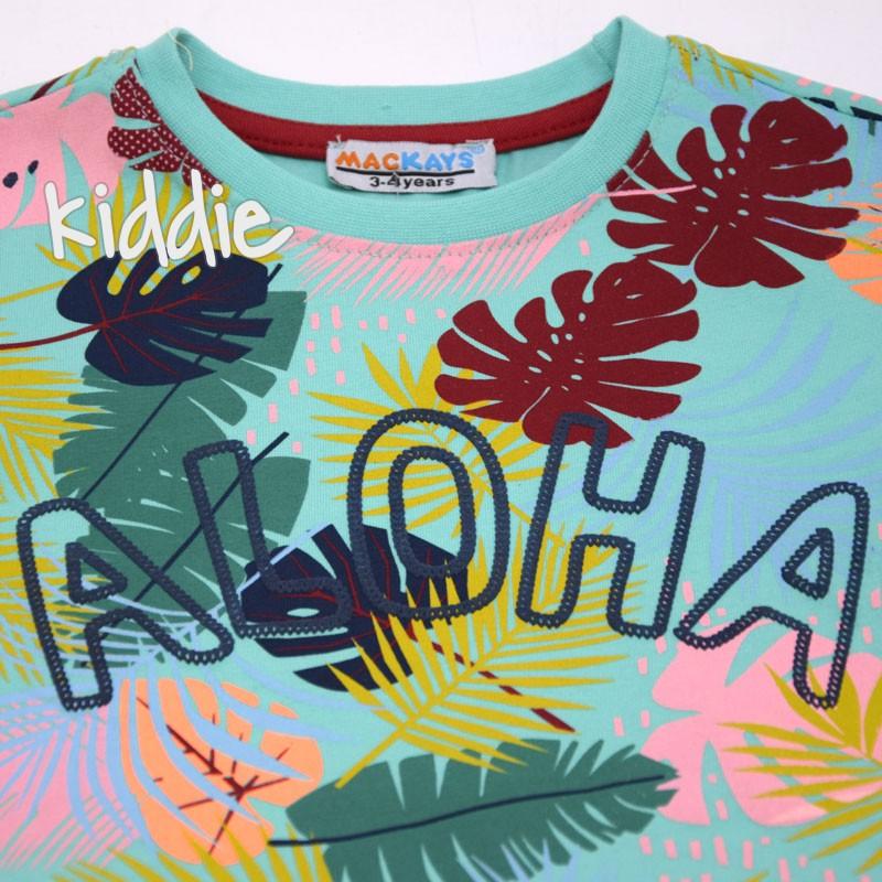 Tricou baieti Mackays Aloha