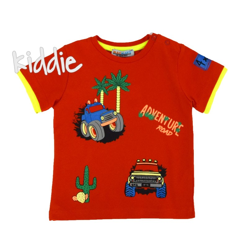 Tricou de baieti  Mackays Adventure Road