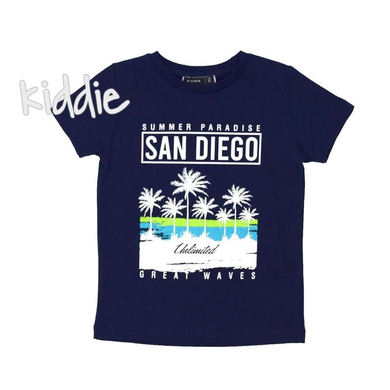 Tricou de baieti San Diego Wanex