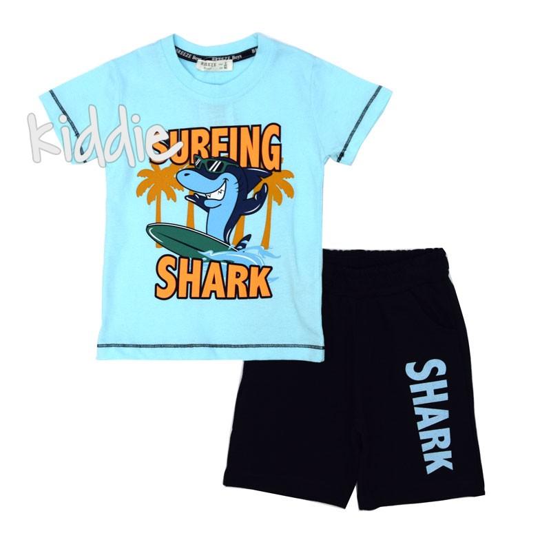 Set de baieti Surfing Shark Breeze