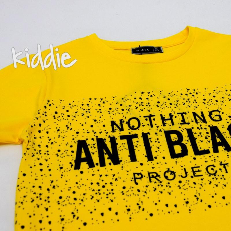 Tricou de baiat  Anti Black Wanex