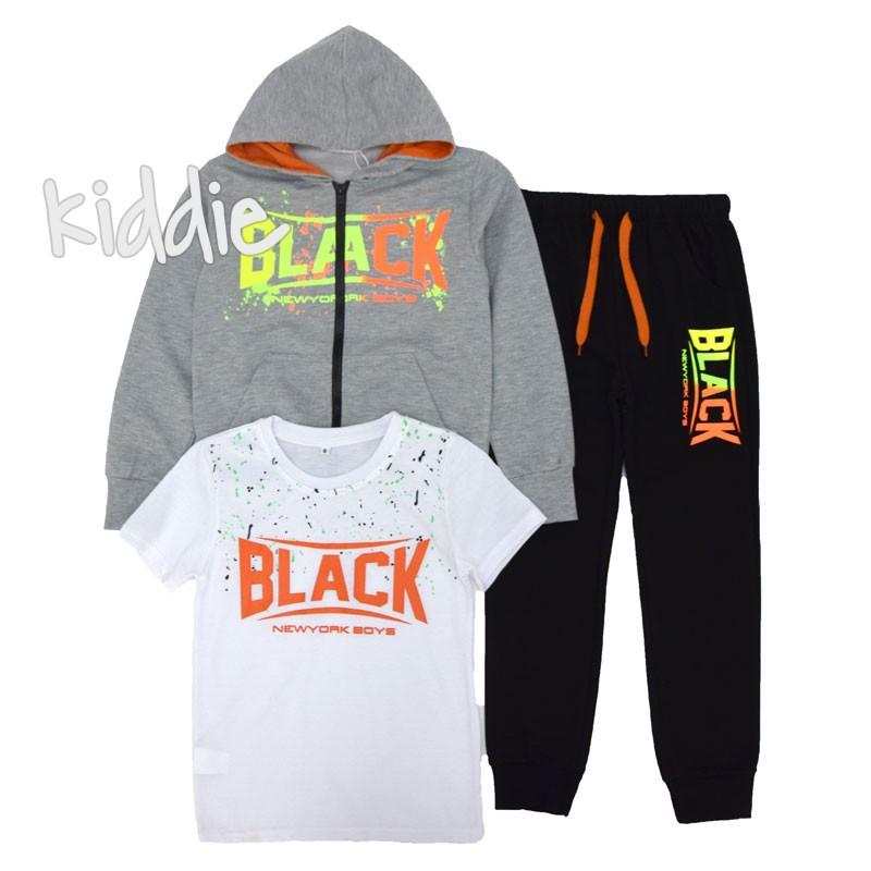 Set sport Black din trei piese