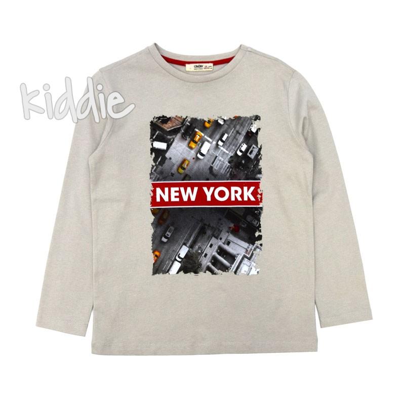 Bluza baiat New York Cikoby