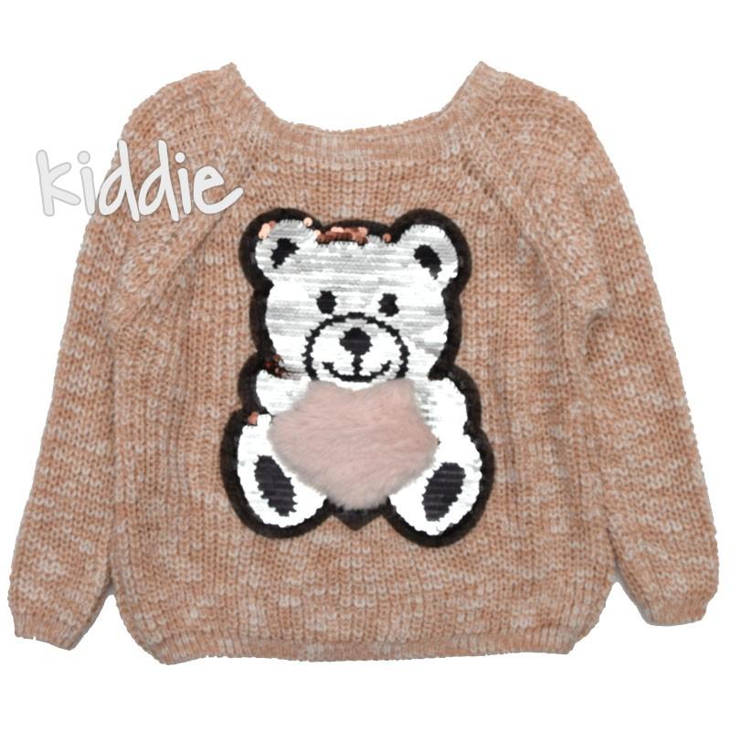 Pulover tricotat Ursulet, Kids moda