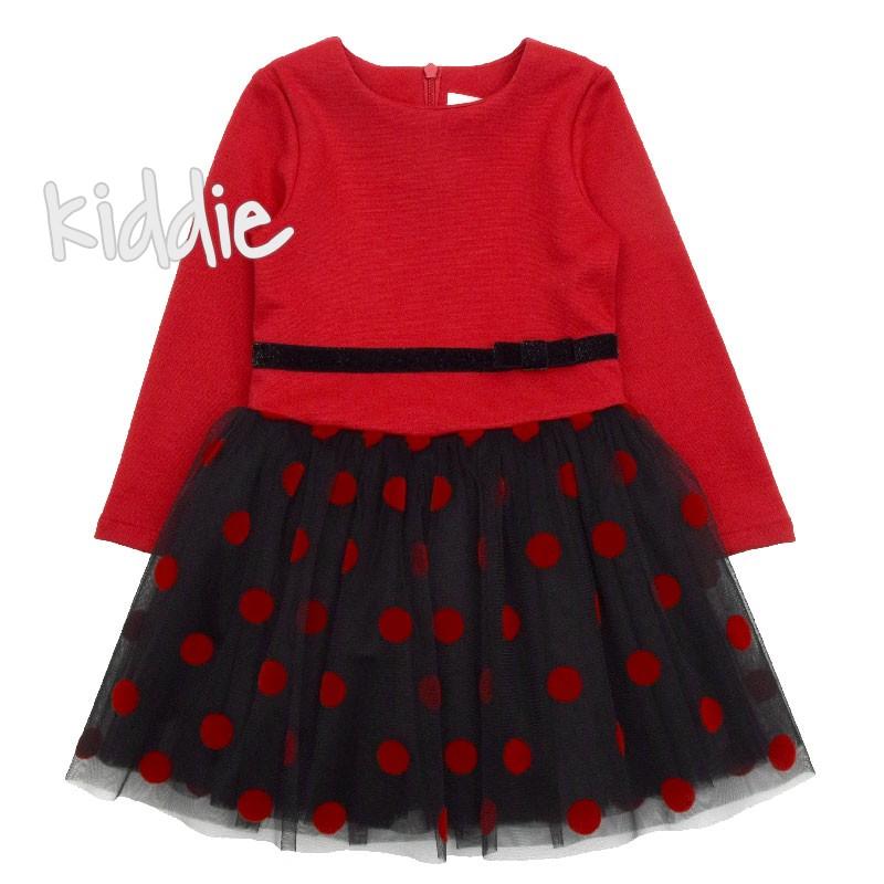 Rochie cu bulinute Contrast pentru copii