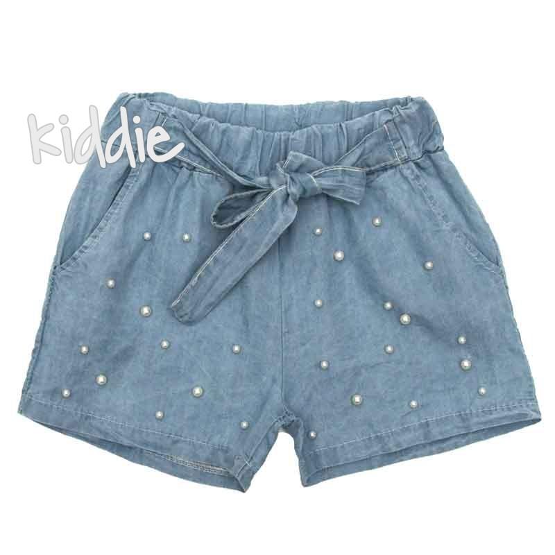 Pantaloni cu perle Asida fete