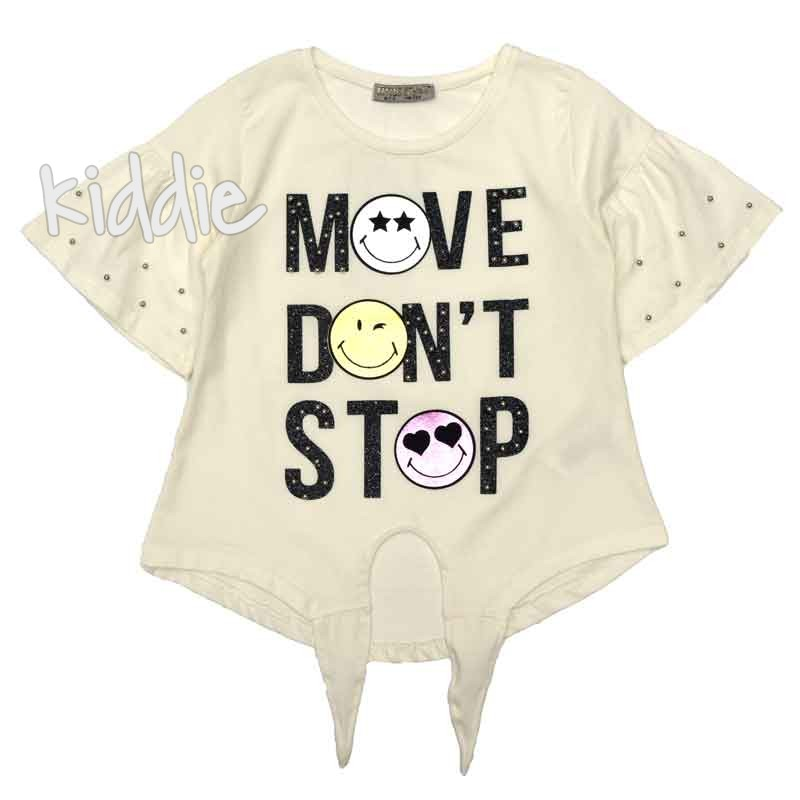 Tricou fete Move Dont Stop, LittleStar