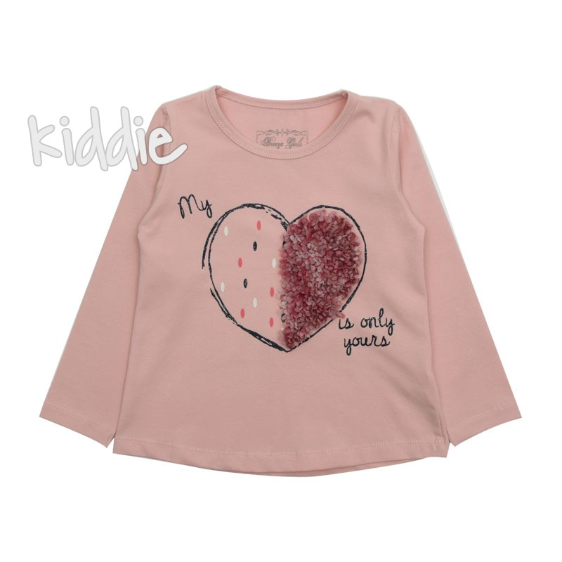 Bluza My hart is only yours, Breeze pentru fata