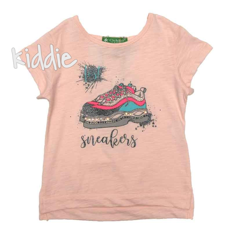 Tricou fete Sneakers Cichlid
