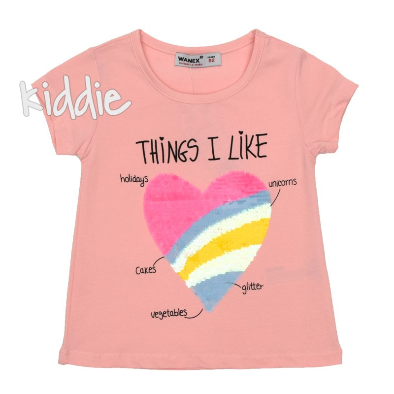Tricou Things I Like, Wanex fete