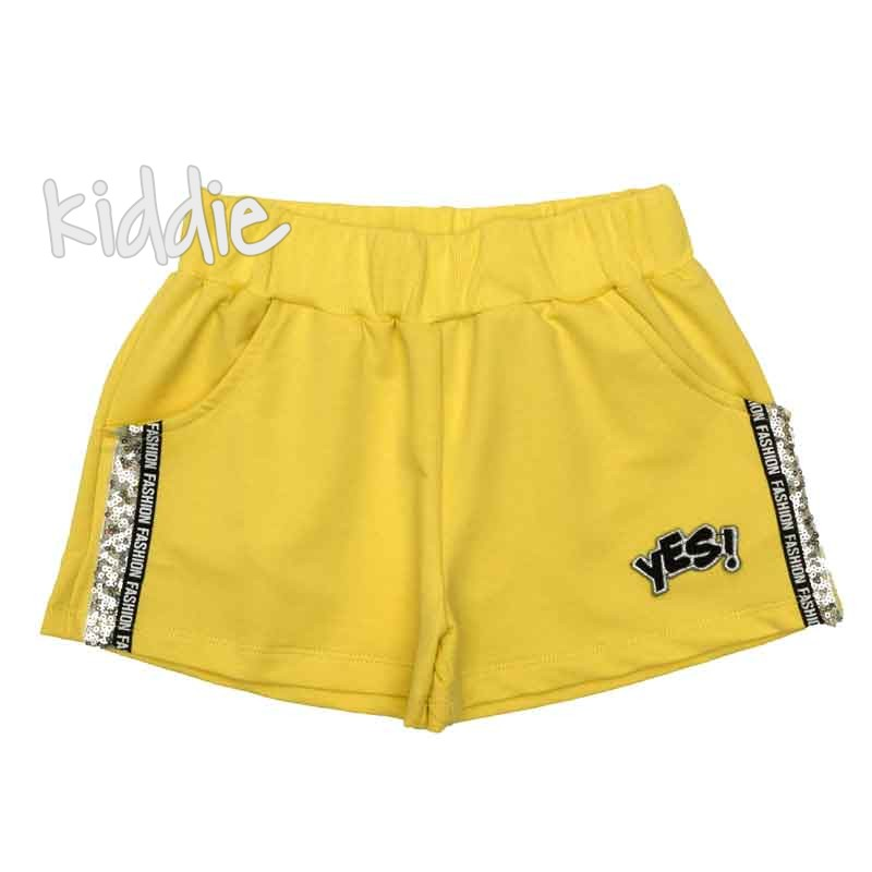 Pantaloni scurti Yes, Teto pentru fete