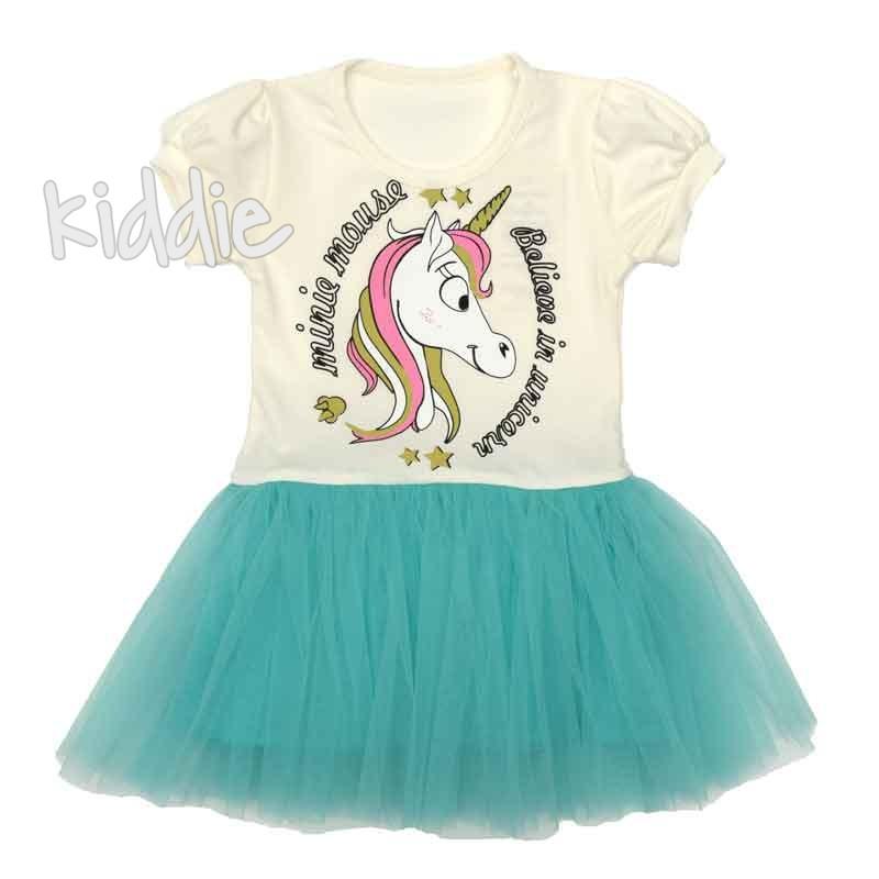 Rochiță Unicorn Sevtex copii