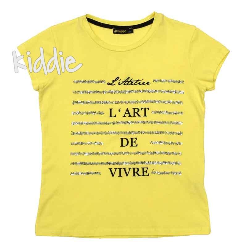 Tricou pentru fata Lart de Vivre, Jasmina