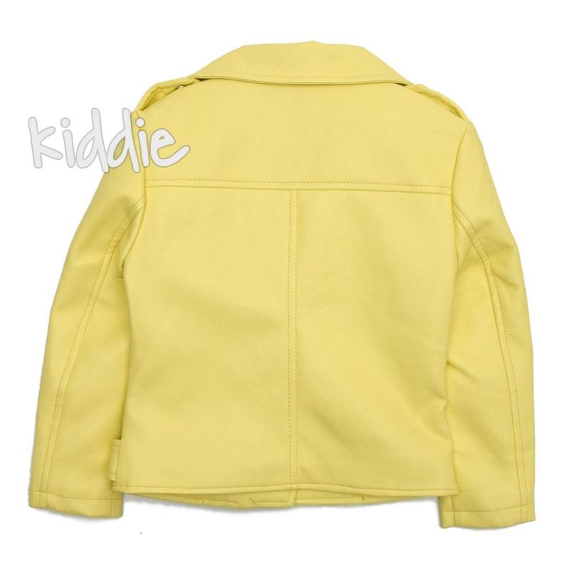 Jacheta din piele Kids Star pentru fata