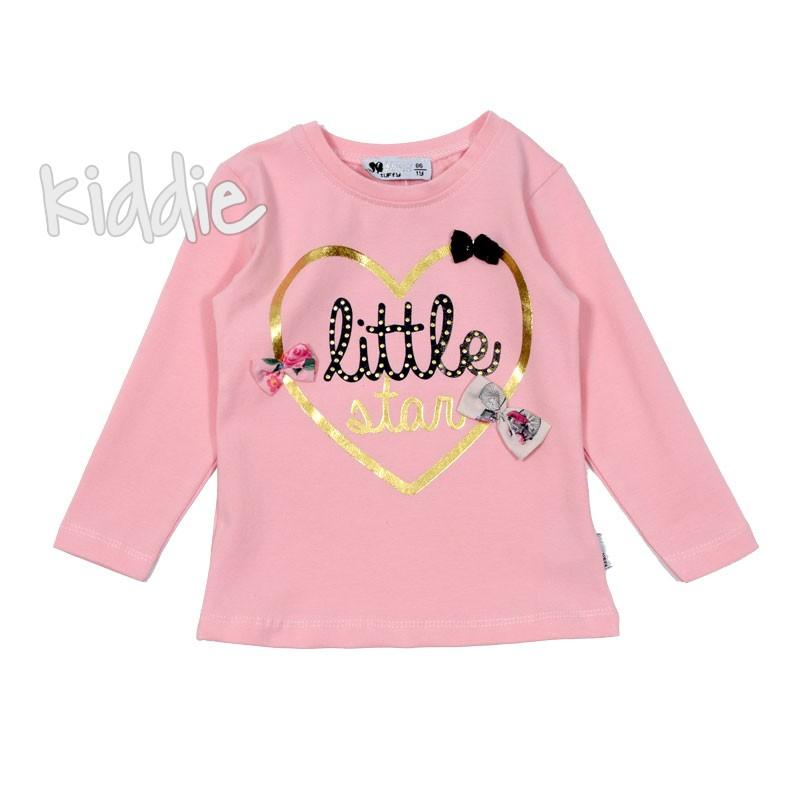 Bluza cu inimioara Little Star fete