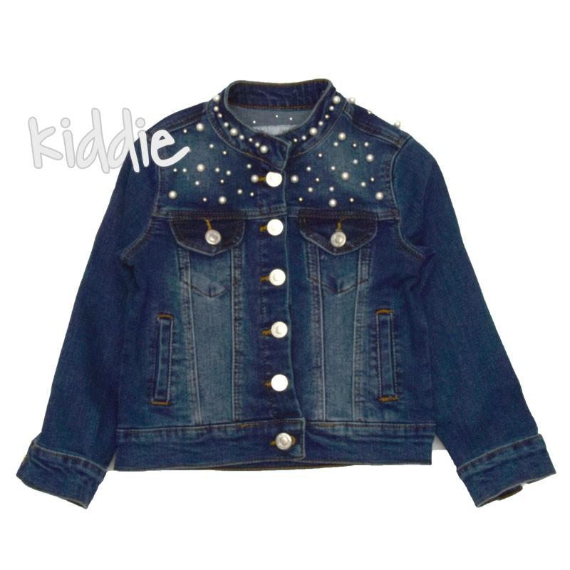 Jacheta de blugi cu perle Breeze fete