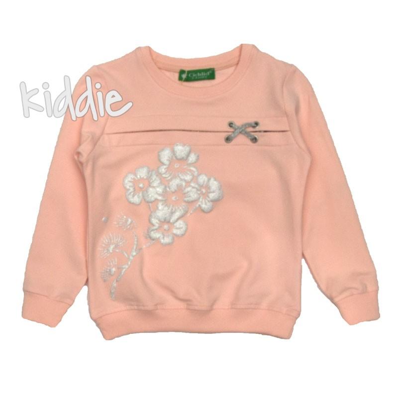 Bluza cu floricele Cichlid fete