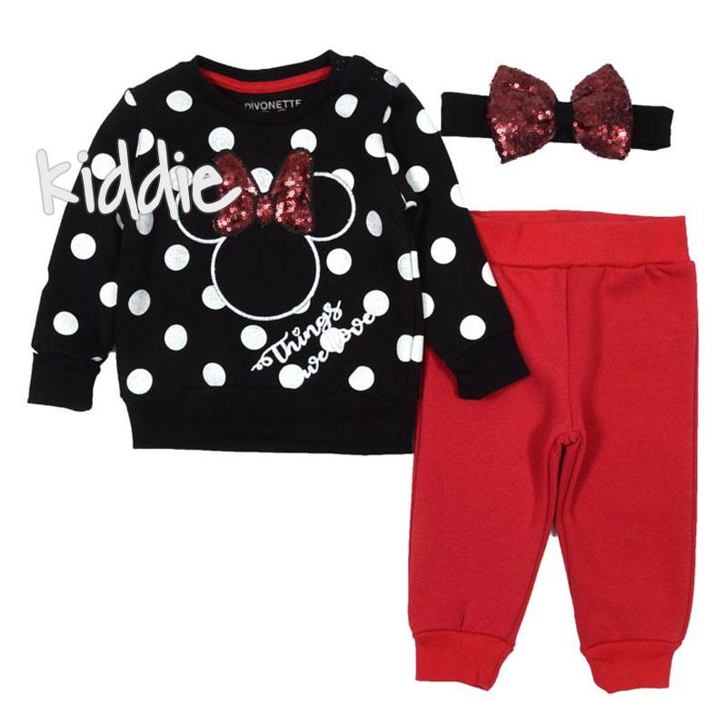 Set Minnie Mouse pentru fete