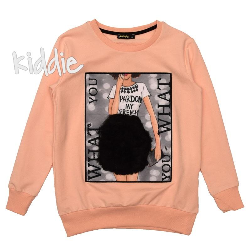 Bluza pentru fete Yesmina Pardon