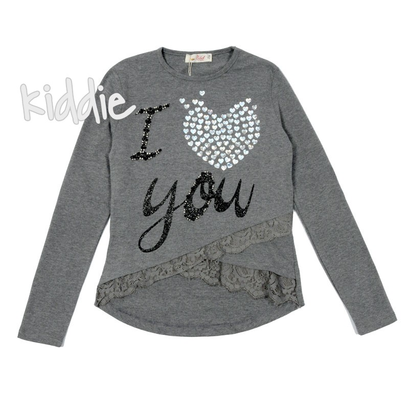 Bluza I love you fete