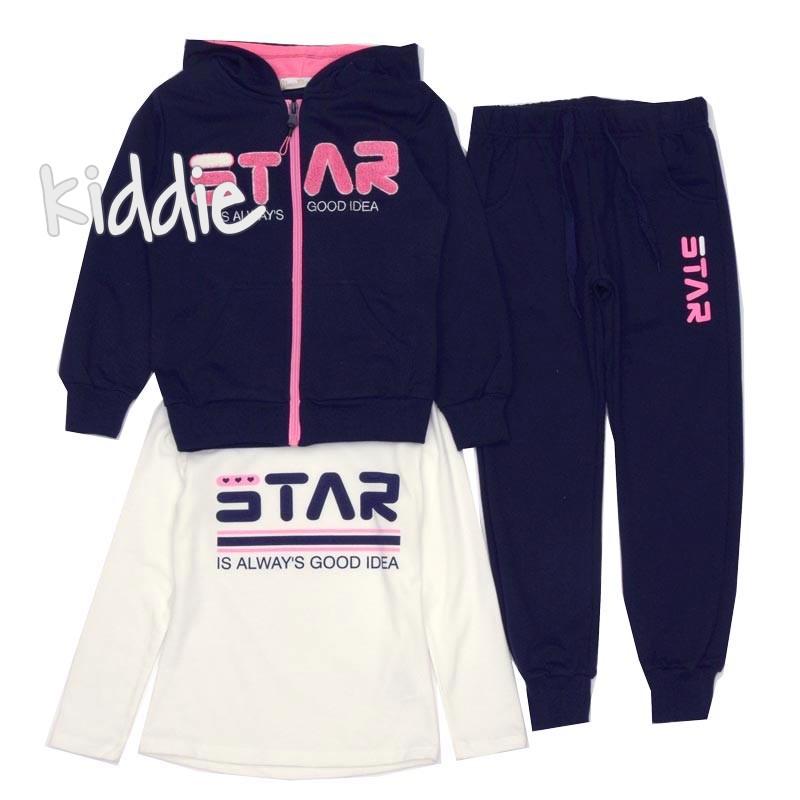 Compleu sport Mono Star pentru fete