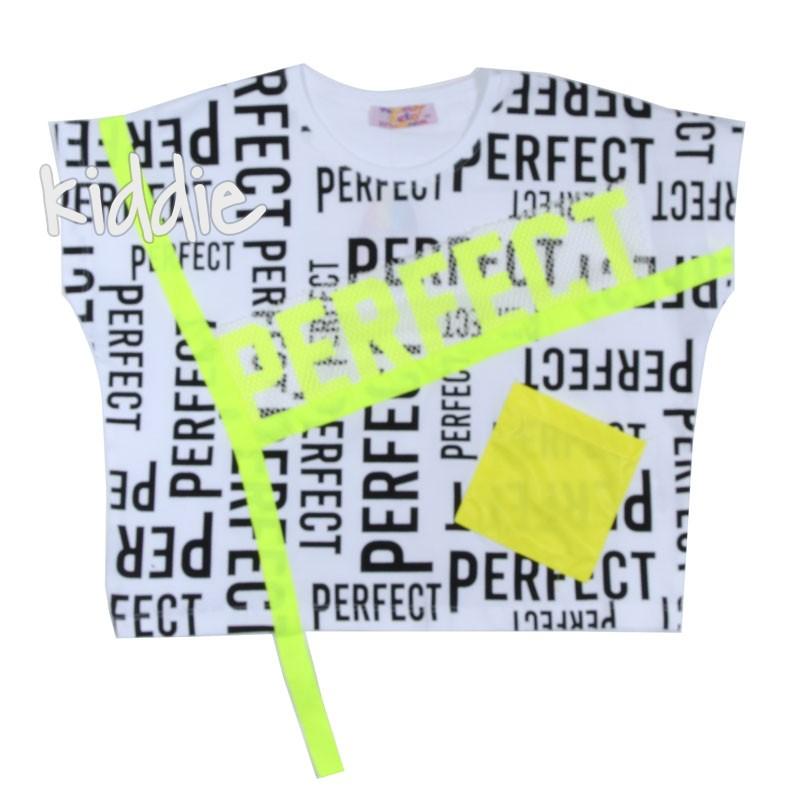 Tricou pentru fete Perfect, Teto