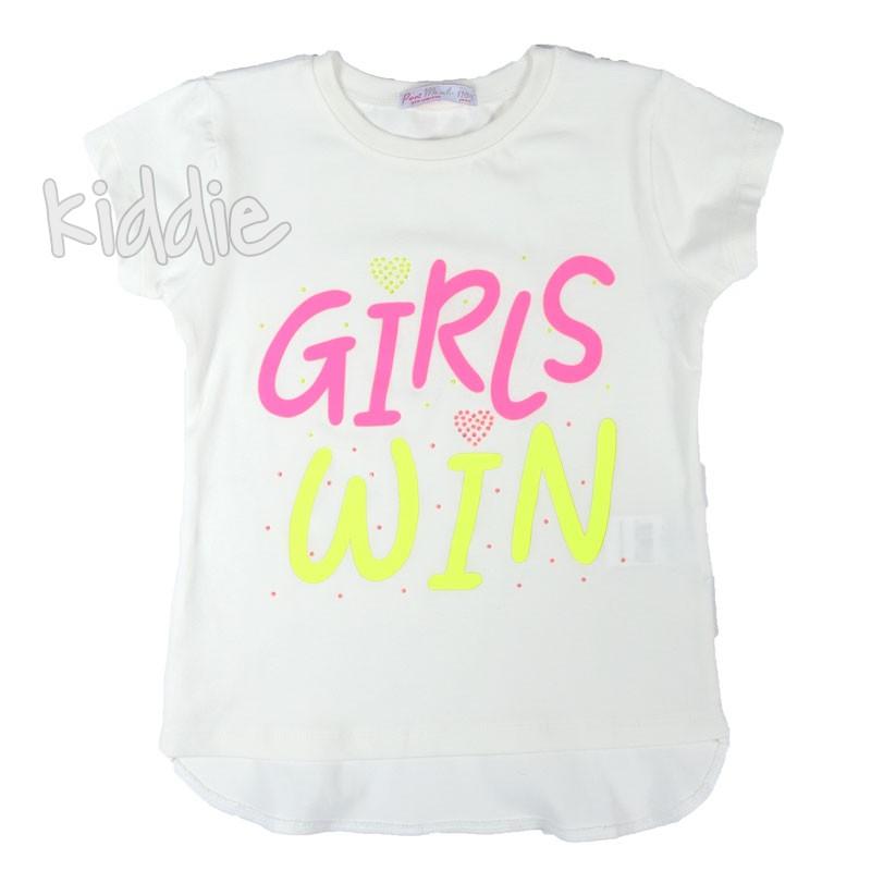 Tricou pentru fetite  Girls win Masali