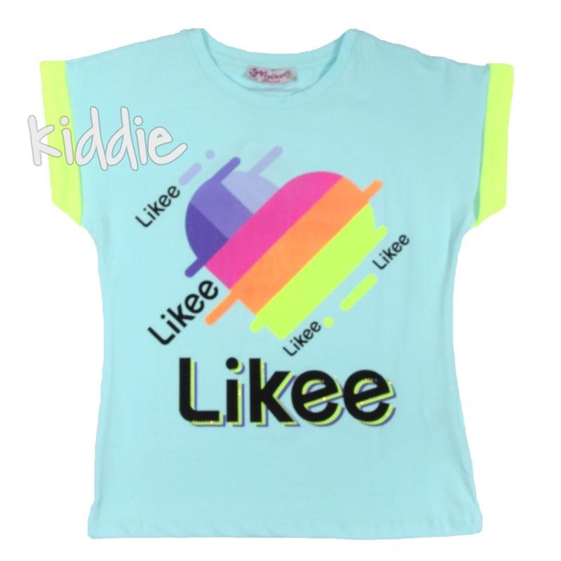 Tricou pentru fete Likee, Viollen