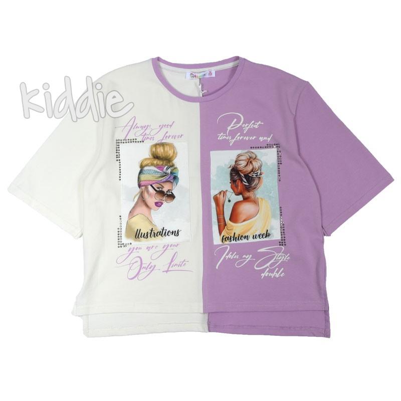 Tricou pentru fete Bermini