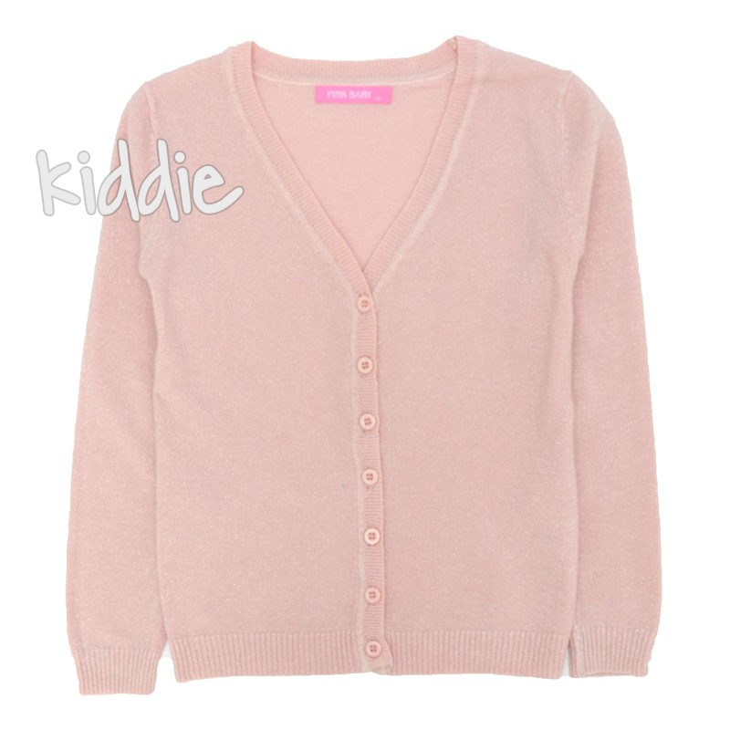 Cardigan fete Pink Baby