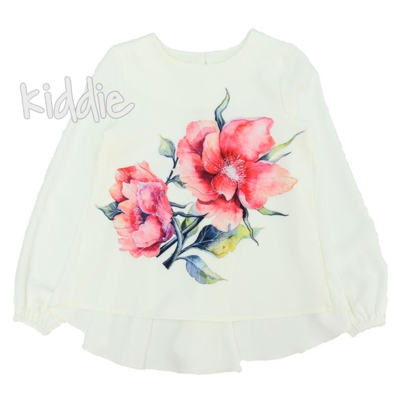Tunica cu print floral Kim Kids fete