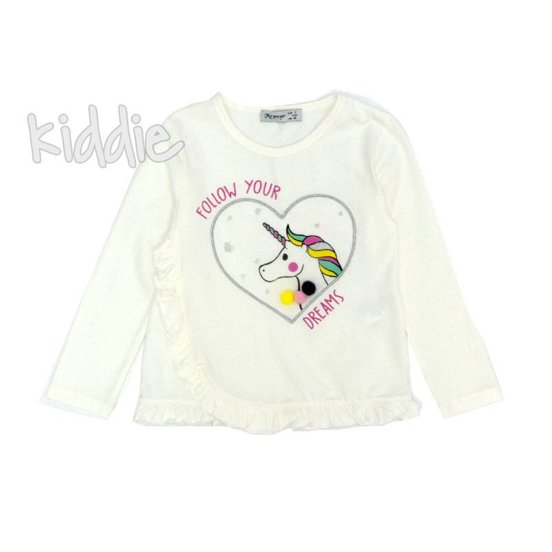 Bluza Unicorn My Prayer cu volanase