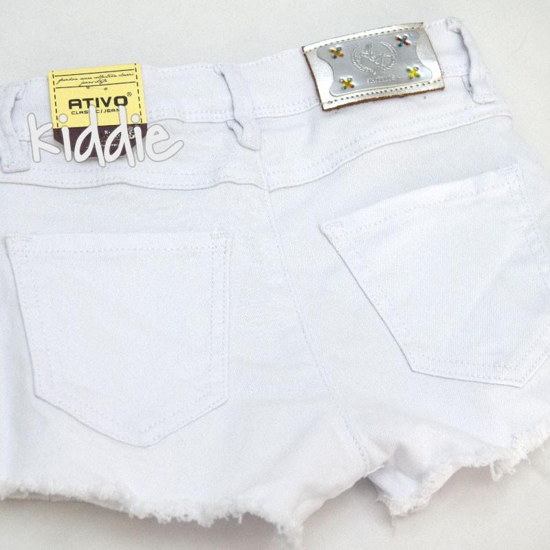 Pantaloni scurti din denim Ativo fete