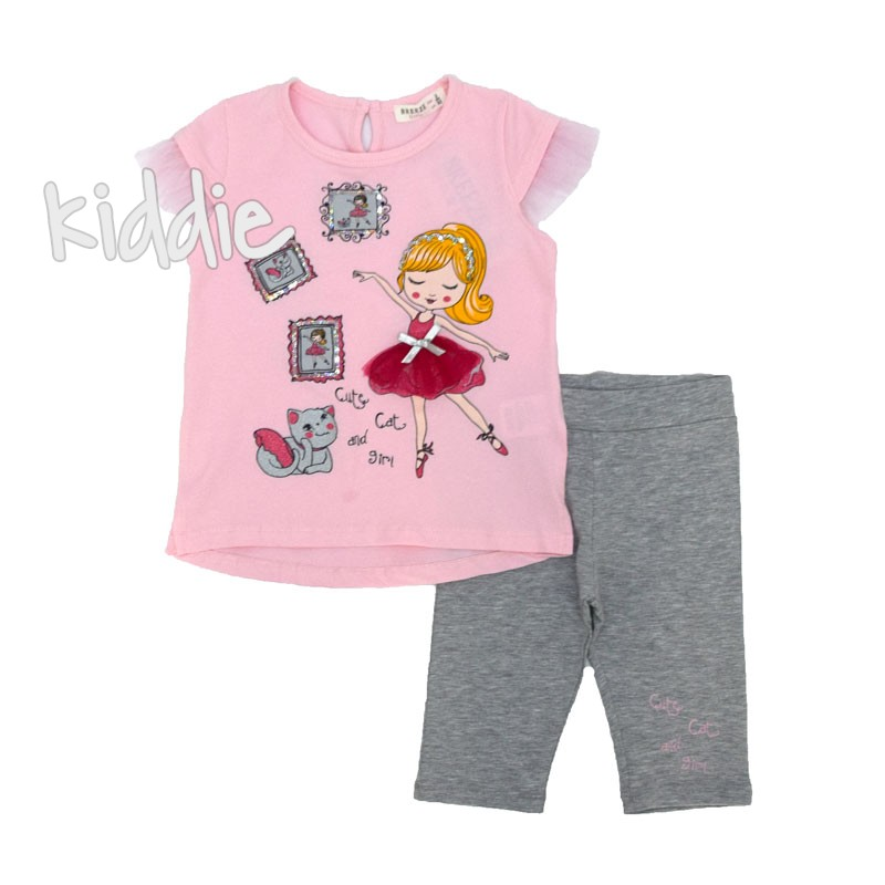 Set de fetite Breeze Ballerina