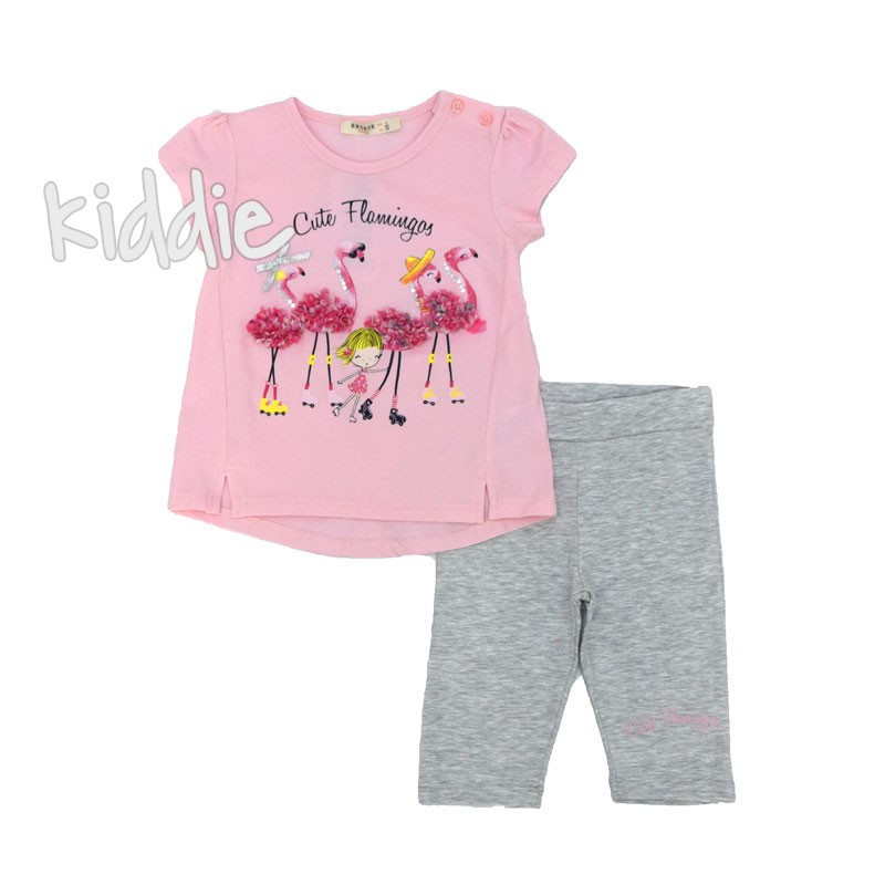 Compleu Breeze Cute Flamingos fete