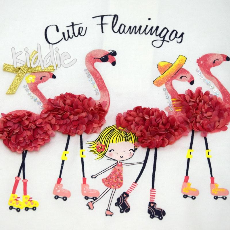 Compleu Breeze Cute Flamingos fete