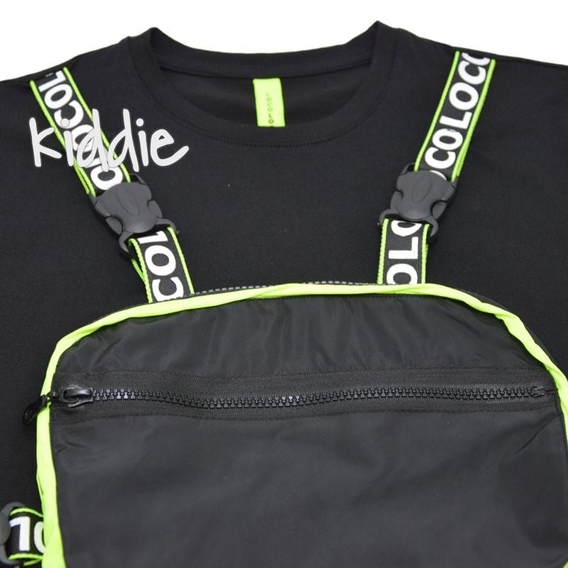 Tricou cu geanta Loco Loco fete