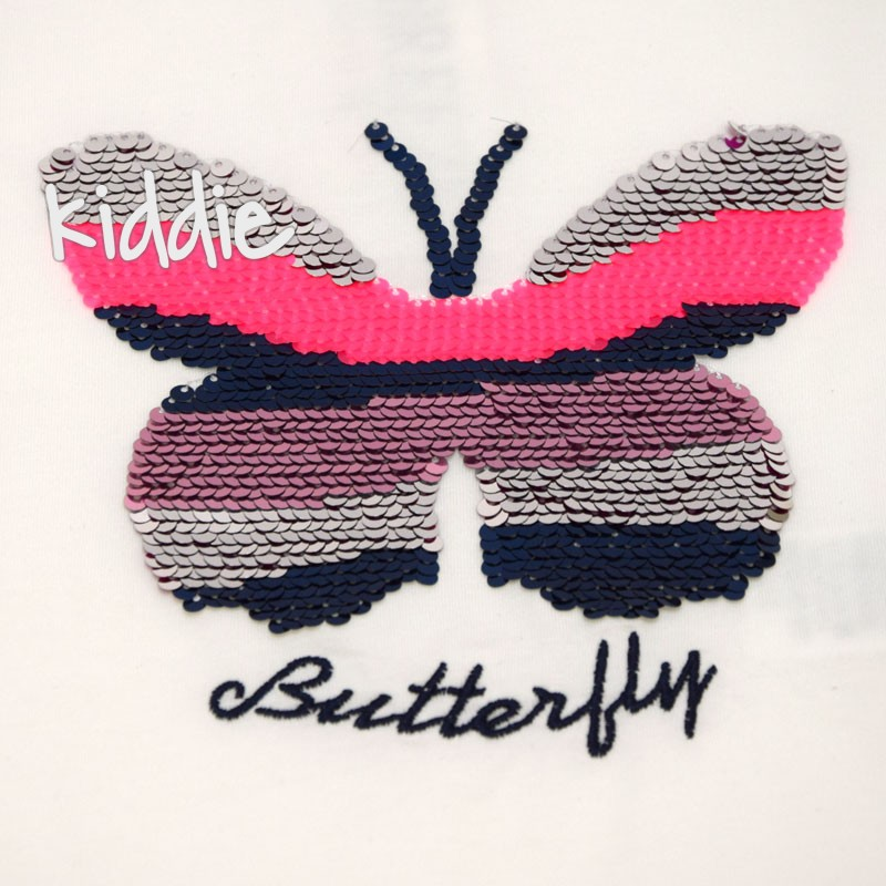 Tricou Breeze Butterfly fete