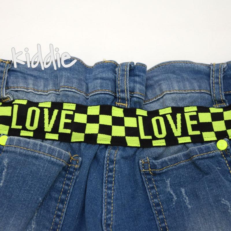 Bermude pentru fete  Love Loco Loco