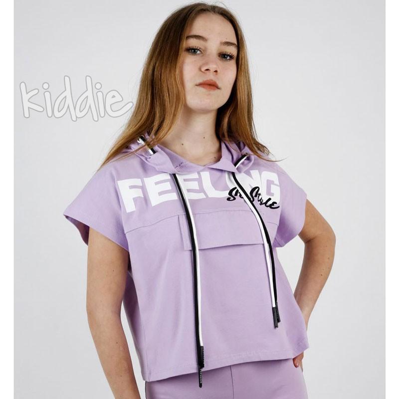 Tricou fete  Feeling Teto