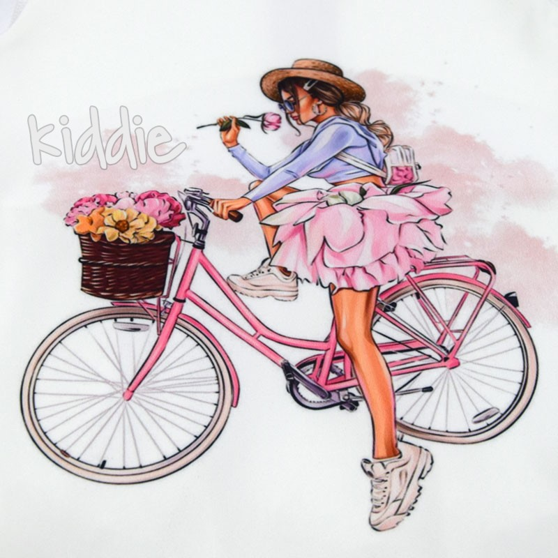 Tunica fete Kim Kids Bike