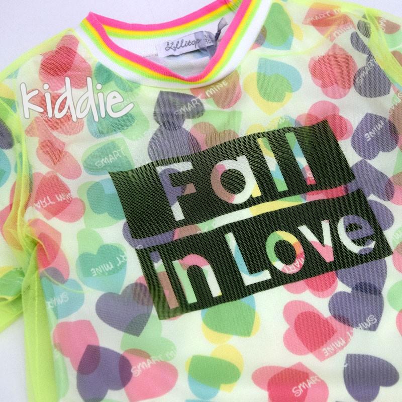 Tunica cu tulle Fall in love Lollitop