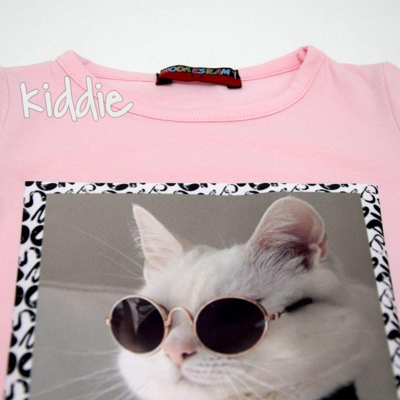 Set tricou si blugi pentru fete